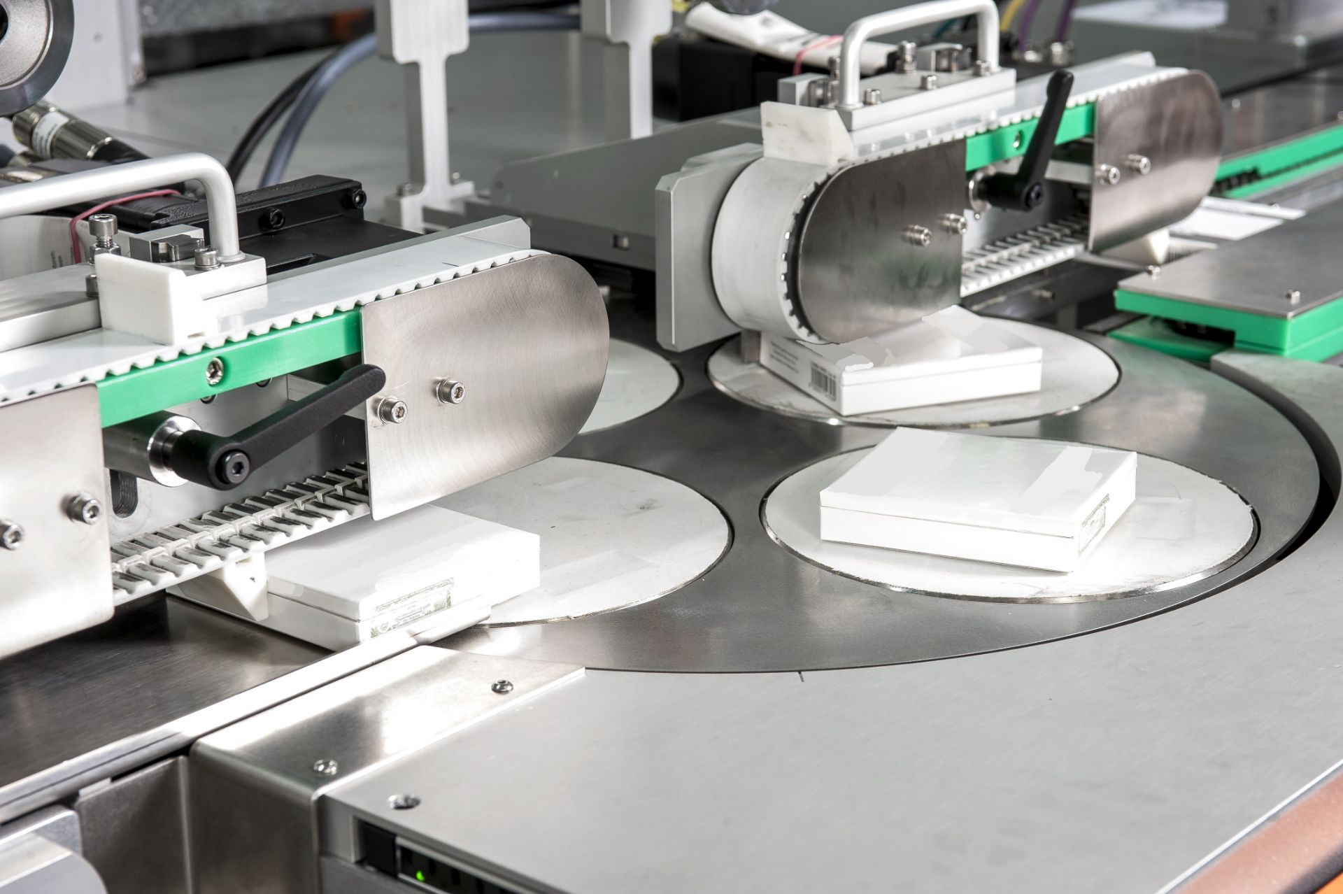 Production and packing machinery